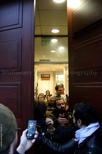 Students barricaded inside SOAS