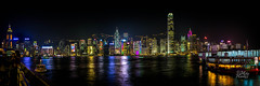 Hong Kong Light show (Mike Hankey.) Tags: hongkong