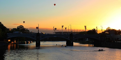 Princes Bridge Sunrise