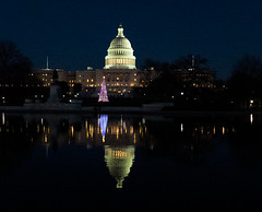 Reflections on Christmas at the US Capitol (Bill in DC) Tags: christmas leica washingtondc uscapitol 2013 leicadlux6