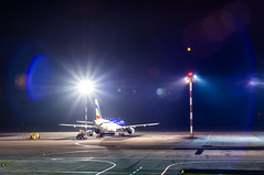 Departure (DIgoriok) Tags: a55 minolta sony alfa 2885 night kiv chisinau moldova aeroport