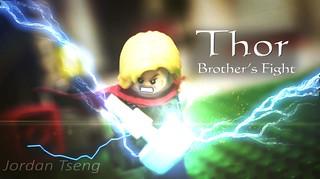 【玩具人Jordan Tseng投稿】樂高雷神索爾 停格動畫: 兄弟鬩牆
