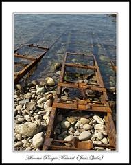 Rusty rails for boats, Arrecife de las Sirenas, Parque Natural Cabo de Gata - Nijar, Almería, Spain (Jequiles) Tags: slipway rusty spain iron rails arrecifedelassirenas lassirenas arrecife a409