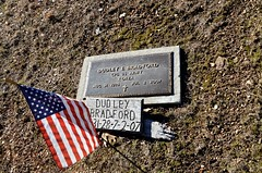 Dudley E. Bradford (Adventurer Dustin Holmes) Tags: cemeteries cemetery grave graves gravemarkers gravemarker koreanwarveteran dudleyebradford dudleybradford newhomecemetery