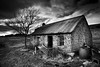Rusty (angus clyne) Tags: white house black tin scotland shed scottish hut croft bothy