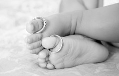 The bond (TheRealWaterfox) Tags: baby feet soft child ring tiny tender