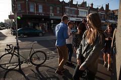 Shine On Me (Ranga 1) Tags: urban girl sunshine canon dusk candid fitzroy australian streetphotography australia melbourne streetscene victoria suburbs cinematic urbanlandscape brunswickstreet davidyoung rosestreet innersuburbs innermelbourne ef24105mmf4lusm canoneos5dmarkii