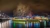 L'Ile Rousseau...Geneva (Julien Boss) Tags: panorama geneva bynight 169 mygearandme d800e