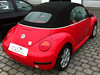 VW New Beetle Cabriolet Verdeck