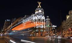 Gran Turismo Madrid - EXPLORED! Thank you :-) (Fotomondeo) Tags: madrid longexposure españa night lights luces noche spain nikon nikond7000