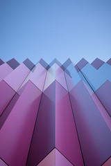 pastel (itawtitaw) Tags: blue light sky abstract color building lines wall architecture facade reflections munich mirror spring colorful pattern glow pastel smooth bluesky symmetry sharp clear edge shoppingcenter mira minimalist divided fassade corners canoneos5dii canon2470mm28ii