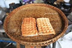 Cambodian Waffle [Khmer Cake] (pinnee.) Tags: asia cambodia southeastasia siemreap asiaimages southeastasiaimages