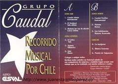 Grupo Caudal, E.S.V.A.L. de Valparaíso, V Región, interpreta un vals recopilado por mi en la VIII Región.