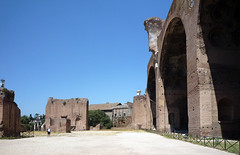Basilica of Maxentius and Constantine, view to apse