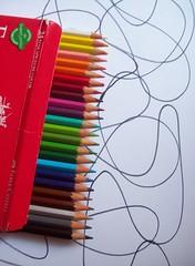 (carolinacenóz) Tags: white argentina colors pencils buenosaires kodak draw easyshare c813 kodakeasysharec813