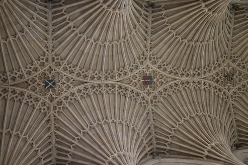Ceiling of Bath Abbey