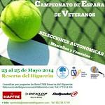 Cto. España Selecciones Autonómicas de Veteranos Reserva del Higuerón (Benalmádena) May2014