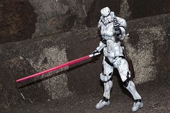 Jedi Trooper? (katsuboy) Tags: anime starwars stormtroopers stormtrooper motorcycle akira kaneda projectbm variantplayartskai