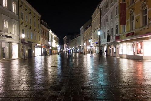 Klagenfurt by night / クラーゲンフルトの夜