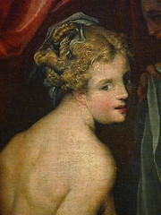 DUBREUIL Toussaint (et Atelier),1594-1602 - Hyante et Climène à leur Toilette (Louvre) - Detail 072 (L'art au présent) Tags: art painter peintre details détail détails detalles painting paintings peinture peintures 16th 16e peinture16e 16thcenturypaintings 16thcentury detailsofpainting detailsofpaintings tableaux peinturefrançaise frenchpaintings louvre paris france museum toussaintdubreuil toussaint dubreuil wash miroir mirror hair longhair cheveux cheveuxlongs servante servant handmaid room bedroom chambre bed lit figures people nakedwoman nakedwomen femmenue nuféminin nudity nudité bare nude femme woman women young jeunesfemmes amphore amphora rideaux fenêtre windows curtains