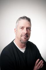 My father. (Brendan Joel Photography) Tags: headshot portrait offcameraflash nikon d90 brendanjoelphotography gord purdy tamron2470