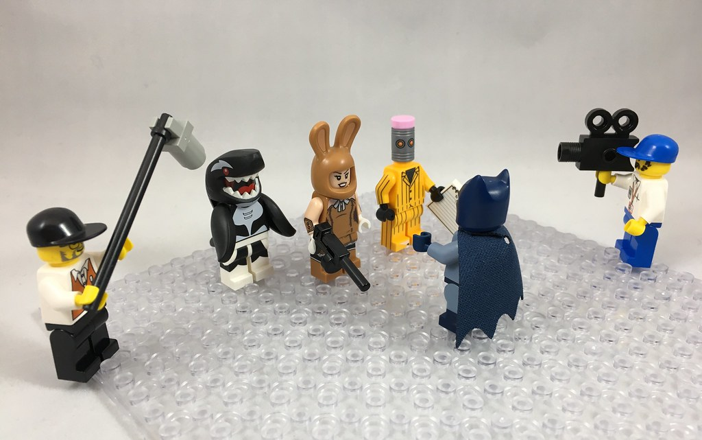 Lego Minifig Camera : The worlds best photos of lego and microphone flickr hive mind