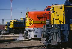 Familiar Faces (joemcmillan118) Tags: newmexico clovis santafe atsf locomotives