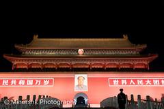 untitled-2049.jpg (minorshk) Tags: beijing chairmanmao china prc tiananmensquare night beijingshi cn