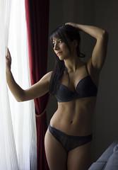 Rear Window (Chemases) Tags: boudoir beauty naked woman body lingerie lencería belleza femenina sexy panties eroticism