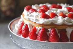 Ananas & strawberry cream cake (Saika2) Tags: cake strawberry cream torta fragole pandispagna