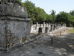 El Meco Site Cancun, Mexico (Kirt Edblom) Tags: mexico ruins pyramid maya columns scenic mayan cancun archeological elmeco