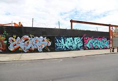 Gorey Horfe Acne (carnagenyc) Tags: nyc newyork brooklyn graffiti pal gorey acne horfe dklt horphe