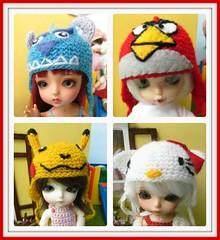 Doris' hats (Flava Sweet) Tags: skye sunny lea zane kayla fairyland muffy snowqueen lati flavasweet latiyellowlimitededition tcobsunny pukifeezio snowqueensophie dorisdressesdolls