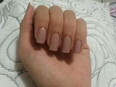 nude (Dafne Saqueti) Tags: nude nail nails nailpolish unhas unha esmalte