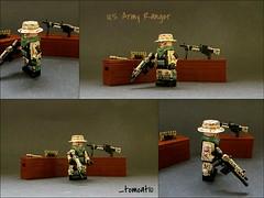 U.S. Army Ranger (Tomcat Bobcat) Tags: 2 army us ranger lego camo scorpion weapon m60 blops arbiter mw2 mw3 brickarms yoshifan detroitika