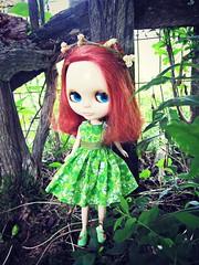 Pretty Flora Girl