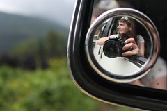 Hello... (lucyphotography) Tags: france alps reflection me mirror scenery