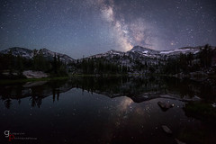 Twilight (Goldpaint Photography) Tags: sky lake reflection night forest eagle cap astrophotography astronomy wilderness milkyway eaglecapwilderness landscapeastrophotography