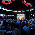 Blueprint debate about copyright in our Guardian Spiegeltent