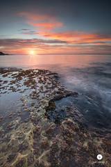 Rampage (juandiegojr) Tags: morning sun seascape water clouds sunrise spain rocks malaga rayoflight rampage kavinsky juandiegojr juandiegojrcom d800e nikond800e