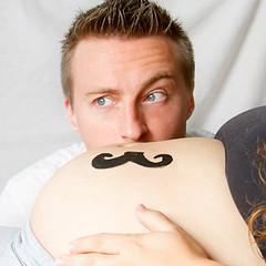 moustache de grossesse