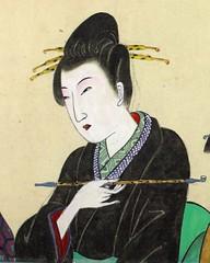 SDIM1372 - 4 (AkinoSasafune) Tags: woman japan  ornamental hairstyle edo hairpin