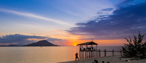 Sunset at kanawa Island