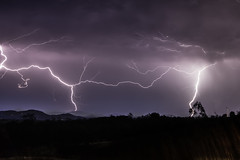 Friday Night Lights (Matthew Post) Tags: storm canon post matthew australia bolt queensland lightning tamron lightningbolt tropicalstorm 6d electricalstorm cooloola gympie 2875mm maryvalley tandur traveston matthewpost