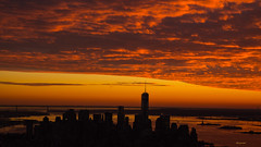 Empire State (zoxcleb) Tags: nyc newyorkcity sunset ny newyork canon twilight dusk empirestatebuilding canon5dmk3