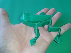 Frog Toshikazu Kawasaki (ecogami br) Tags: origami arte toshikazukawasaki ecogami giulianobio arteedobraduras biologiamaisdobras artesanatoedobras ecodobras frogkawasaki oripp5
