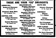 albany ny drug stores pharmacies 1942  1940s (albany group archive) Tags: ny 1940s drug albany 1942 stores pharmacies