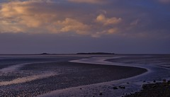 Last light over Hilbre Island (Chris Beesley) Tags: