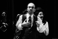 Asociacin Teatral Druida (Sonia Montes) Tags: blackandwhite bw black byn blancoynegro teatro obra druida representacin