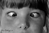 IMG_8497 copy (Yorkshire Pics) Tags: people blackandwhite cute girl kids children blackwhite squint toddlers kiddies littlegirls squinting cutekids bogeyed younggirls squinteyed